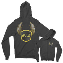 SPLICED Logo Zip Up Hoodie