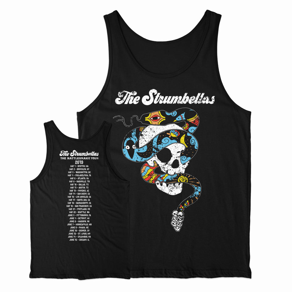 The Strumbellas - Rattlesnake US Tour - Black Tank Top