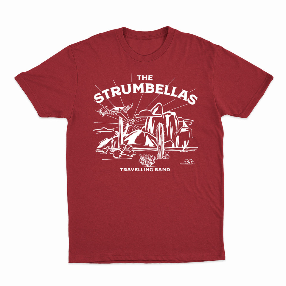 The Strumbellas - 2019 Travelling Band - Cardinal Red Tee