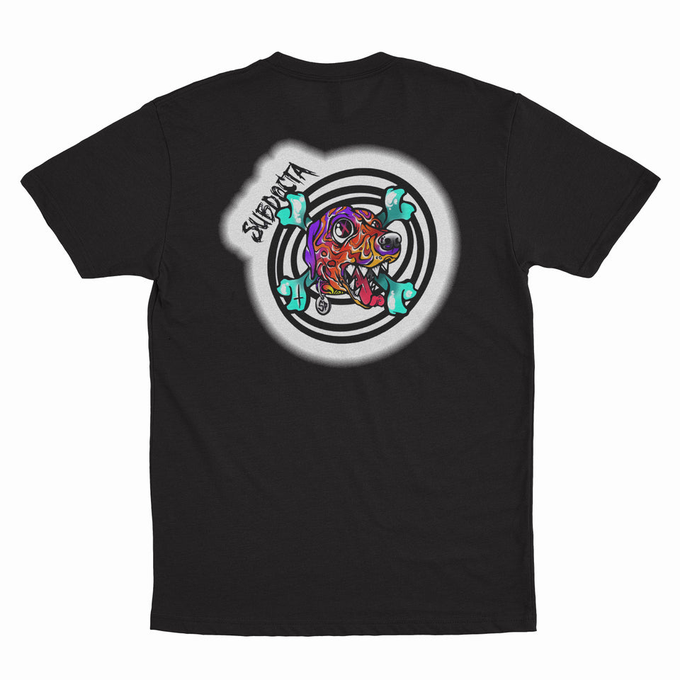 SubDocta- G'Boy - Black T-Shirt