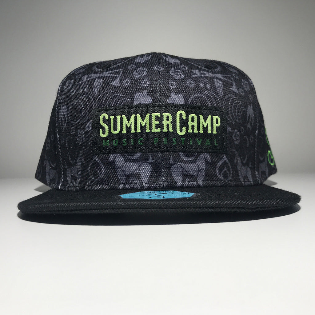 Summer Camp Music Festival - 2019 Snapback Hat - Black