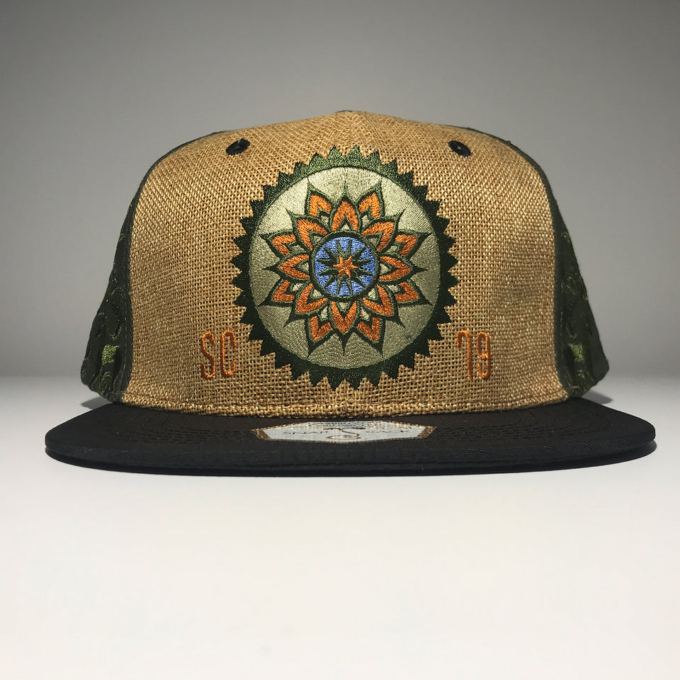 Summer Camp Music Festival - 2019 Snapback Hat - Tan / Green
