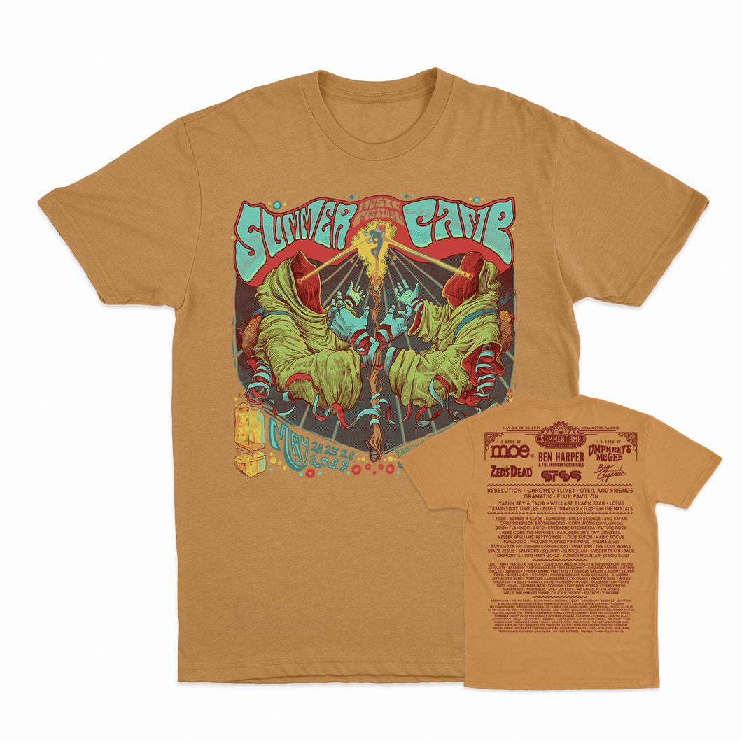 Summer Camp Music Festival - 2019 Poster Tee - Ginger