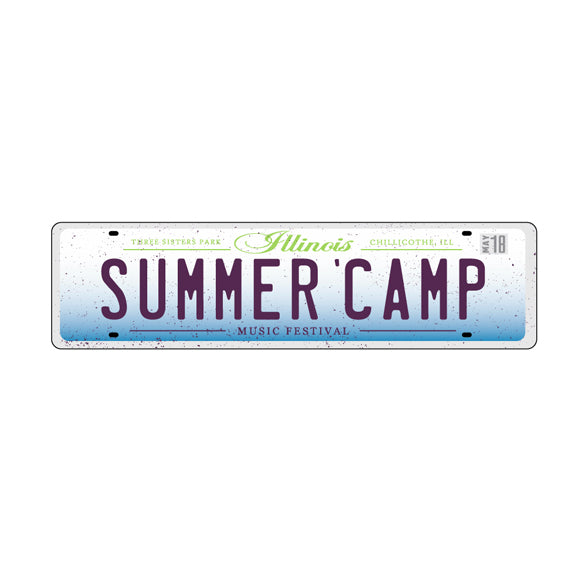 Summer Camp Music Festival - Bumper Sticker