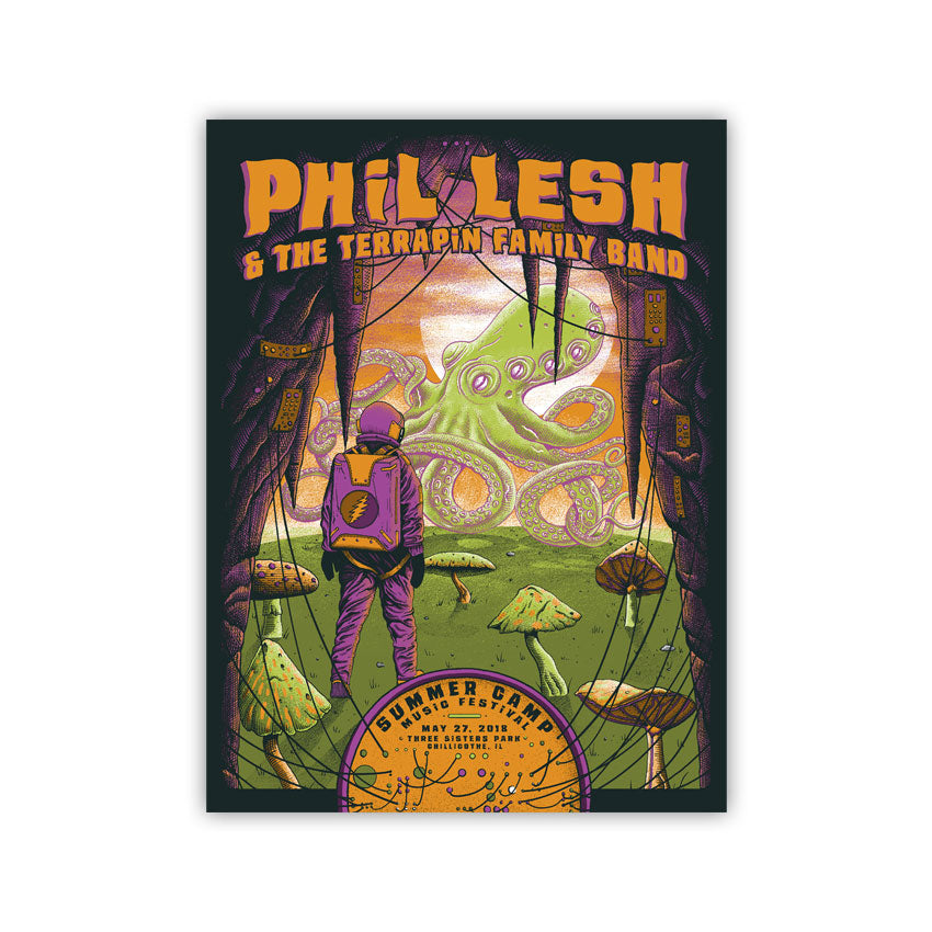 Summer Camp Music Festival - SC x Phil Lesh Poster