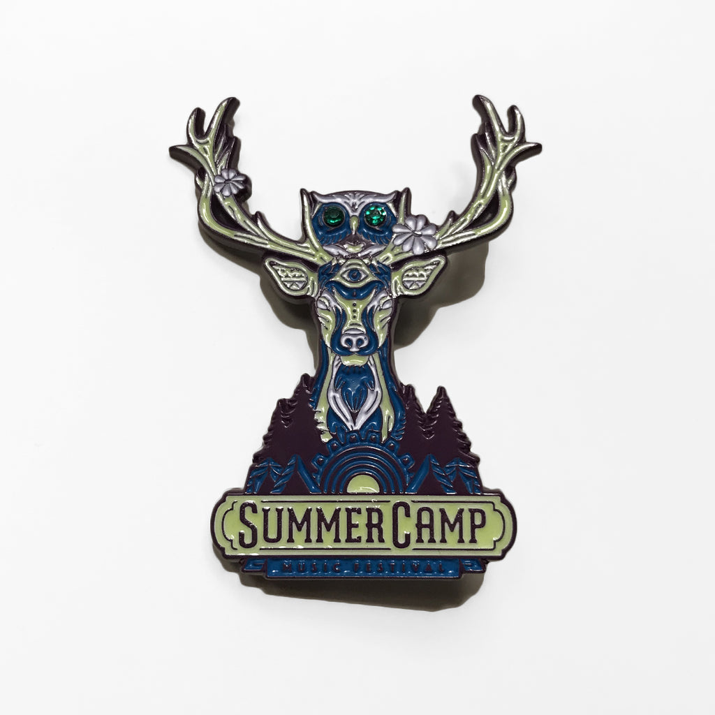 Summer Camp Music Festival - Totem Lapel Pin