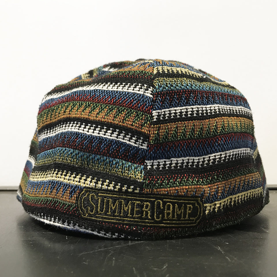 Summer Camp Music Festival - Fitted Hat - Black / Red