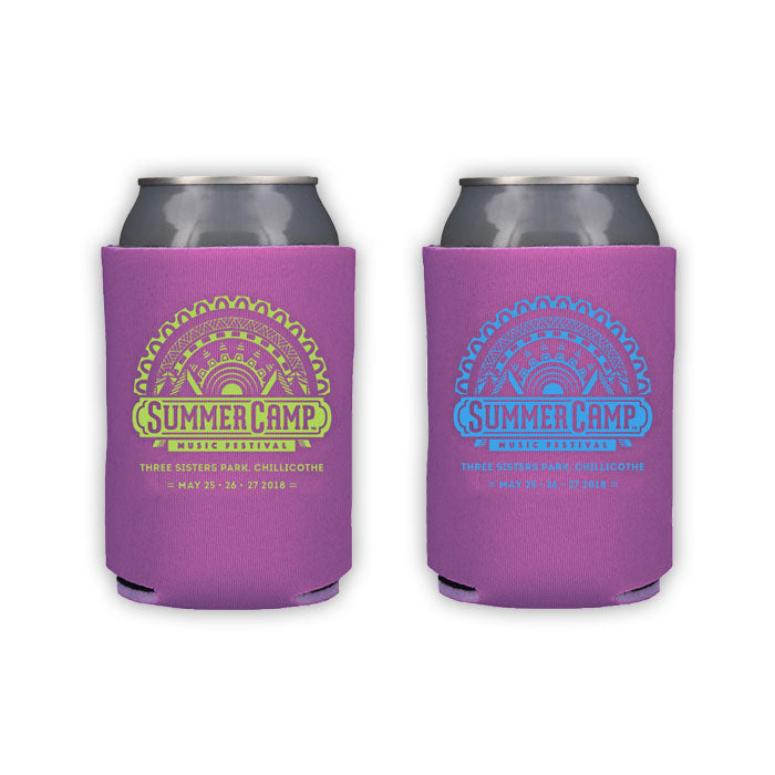 Summer Camp Music Festival - Koozies