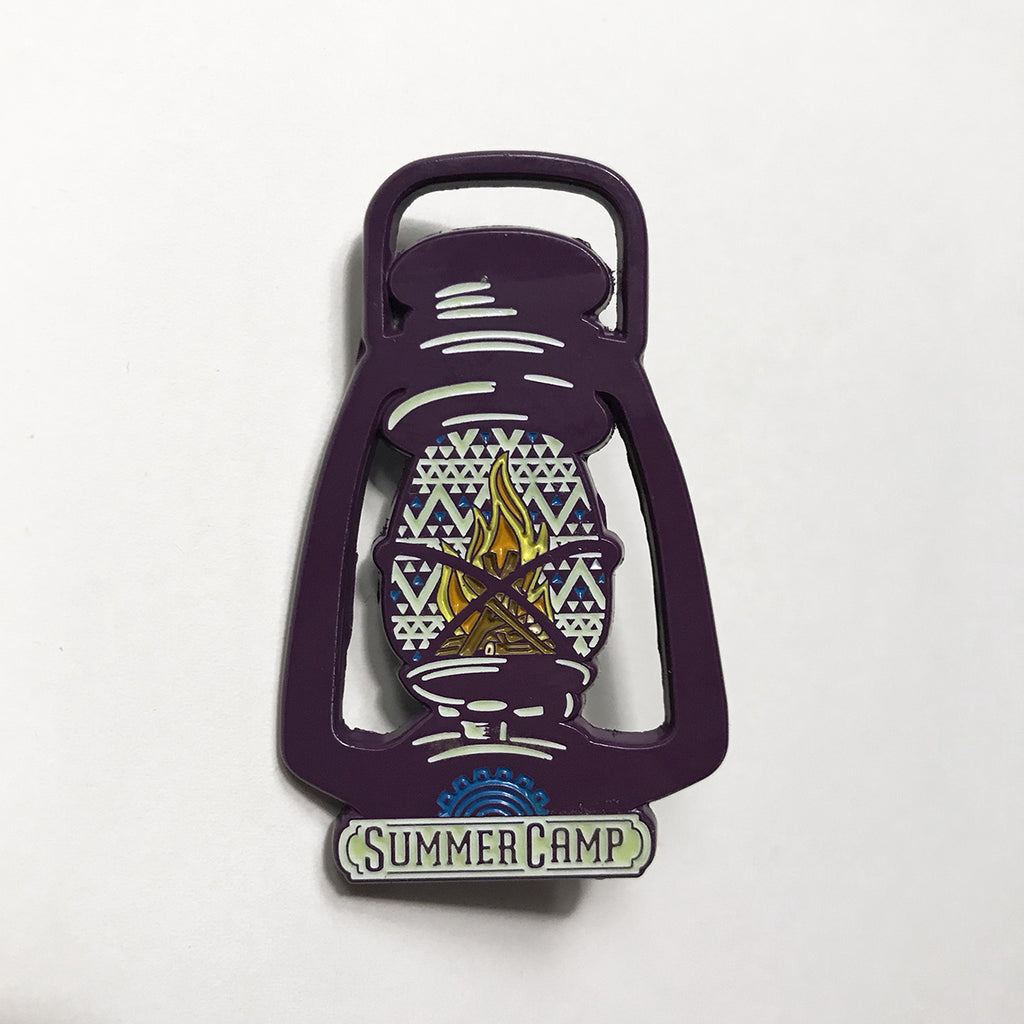 Summer Camp Music Festival - Lantern Lapel Pin