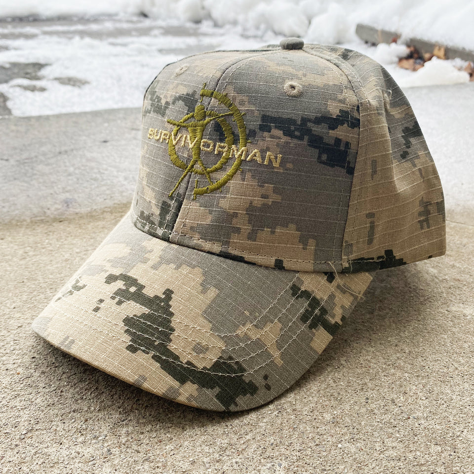 Survivorman - Digital Gray Camo Hat