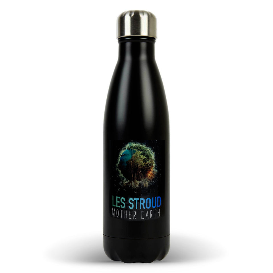 Survivorman - Les Stroud - Mother Earth Premium Water Bottle
