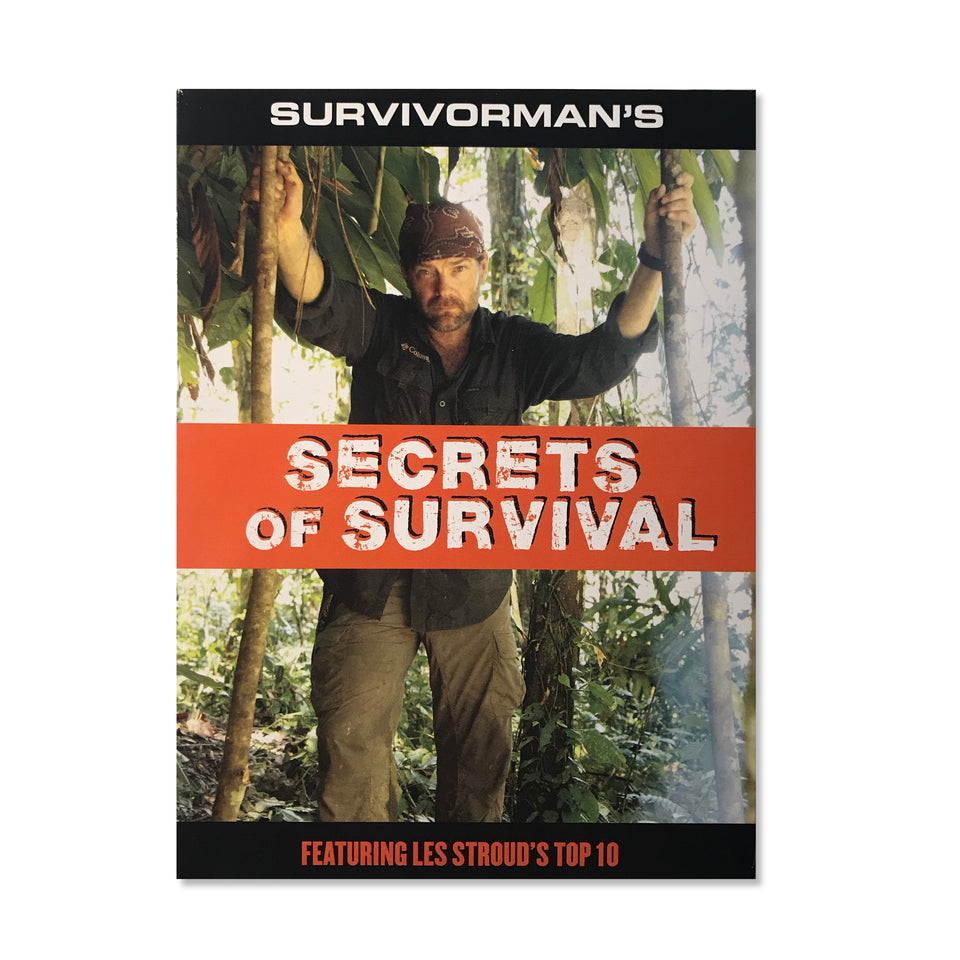 Survivorman - Secrets Of Survival - DVD