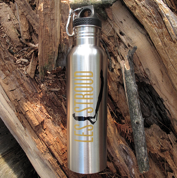 Survivorman - Les Stroud - Stainless Steel Water Bottle