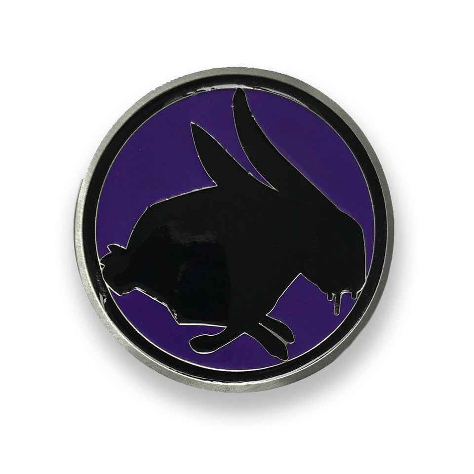 THE BIRTHDAY MASSACRE - Bunny - Custom Belt Buckle