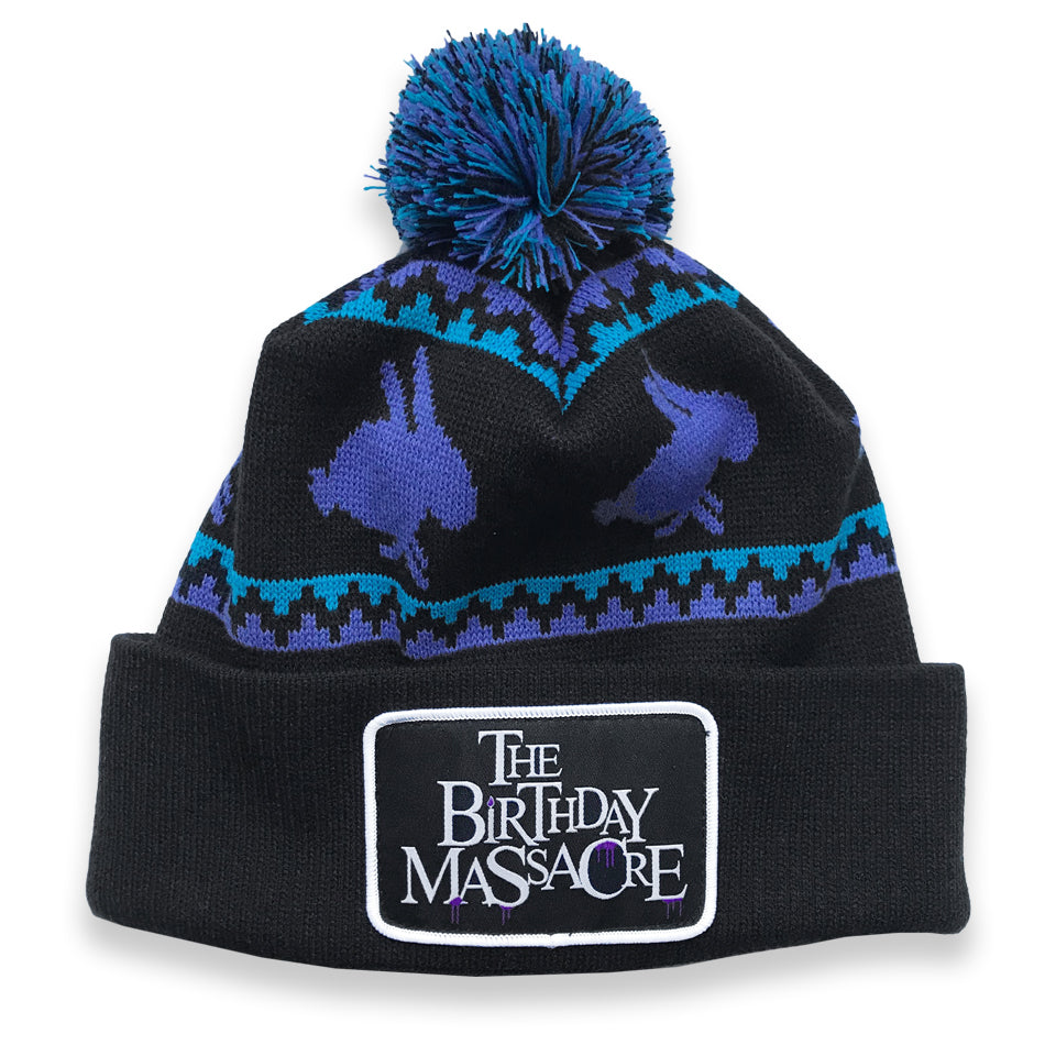 THE BIRTHDAY MASSACRE - Custom Knit Pom Pom Hat