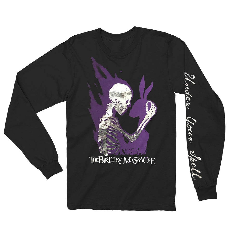 THE BIRTHDAY MASSACRE - Under Your Spell - Foil Long Sleeve Shirt