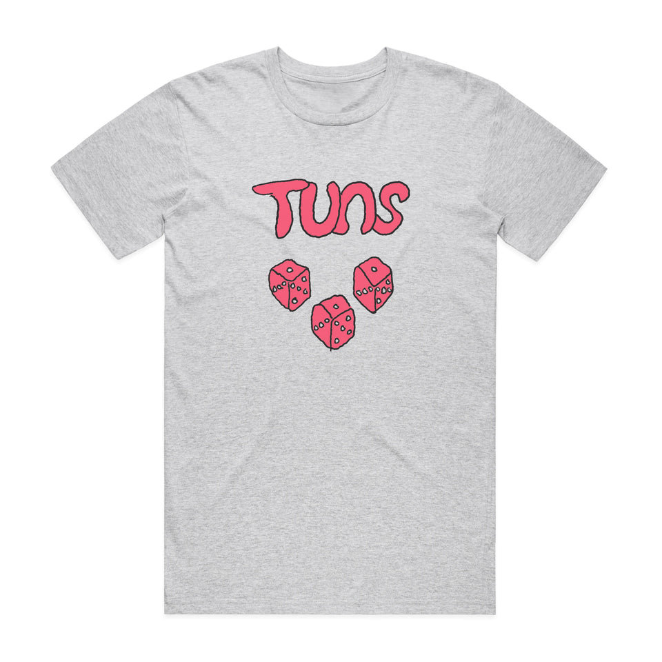 TUNS - Dice - Heather Gray Tee