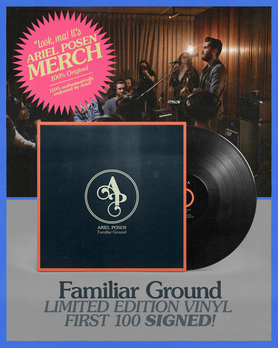 Ariel Posen - Familiar Ground - SIGNED Vinyl