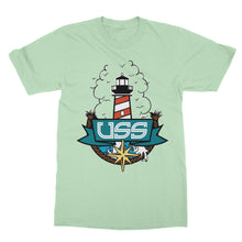 U.S.S. - Light House - Celadon Unisex Tee