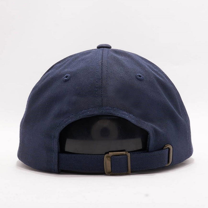 Prozzak - Logo - Navy Blue Dad Hat