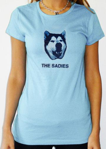 THE SADIES Girls Wiley Shirt - POWDER BLUE