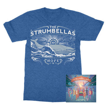 The Strumbellas - Whale Of A Time Summer Special - CD / Tee Bundle