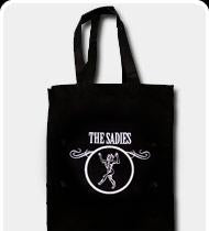 THE SADIES Tote Bag - Black