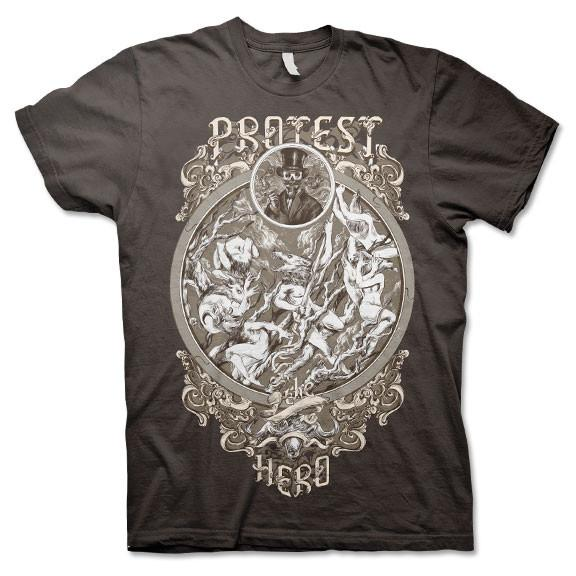 PROTEST THE HERO - Cigar Guy Brown Tee