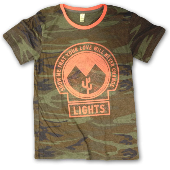 LIGHTS -Vintage Camo- T-Shirt