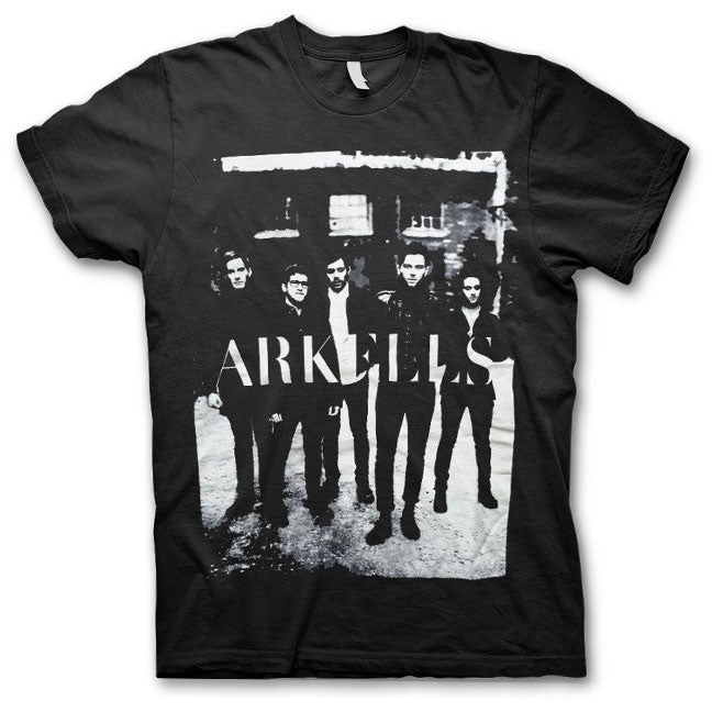 Arkells - Group - Unisex Black T-Shirt