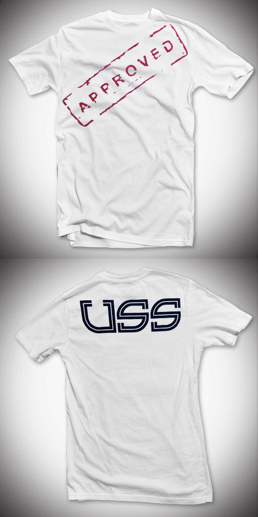 U.S.S. Approved T-Shirt - White