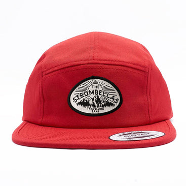 The Strumbellas Jockey Hat - Red