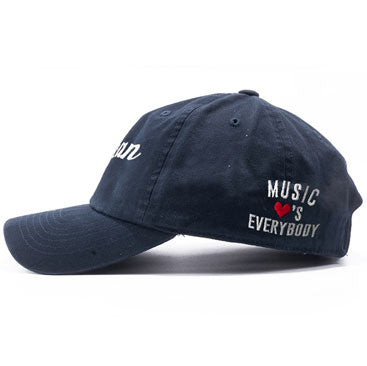 SOCAN - Music Loves Everybody - Navy Blue Dad Hat
