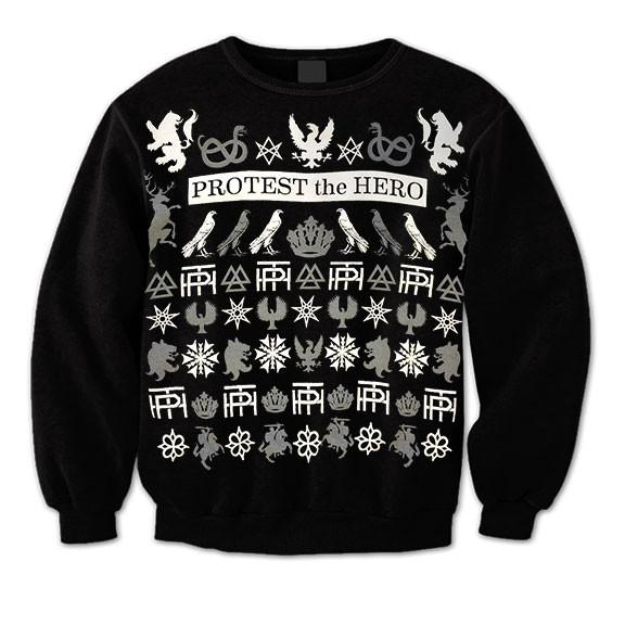 PROTEST THE HERO Winter Crew Sweater