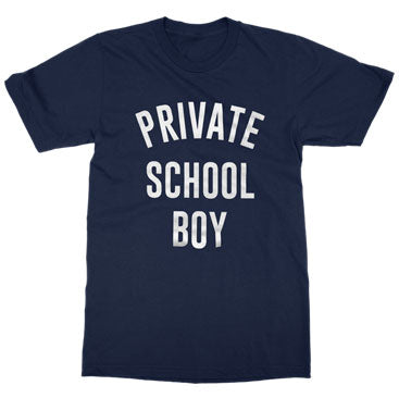 Arkells - Private School Boy - Navy Blue T-Shirt