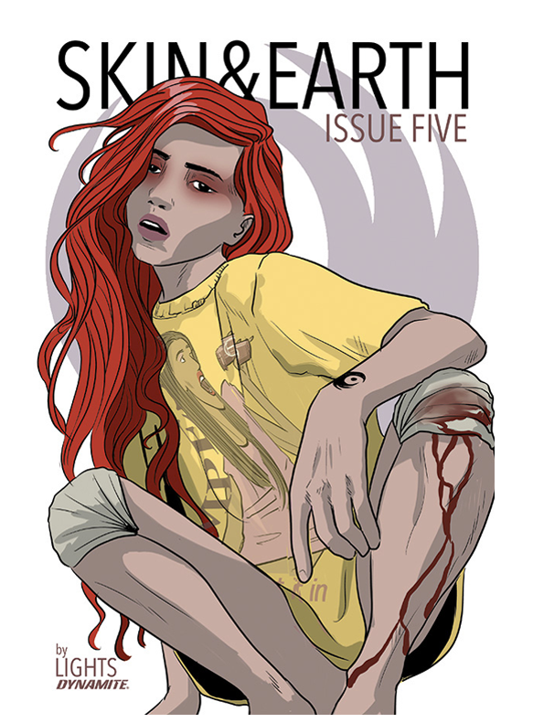 LIGHTS - Skin and Earth Issue 5 - Comic (Cover B)