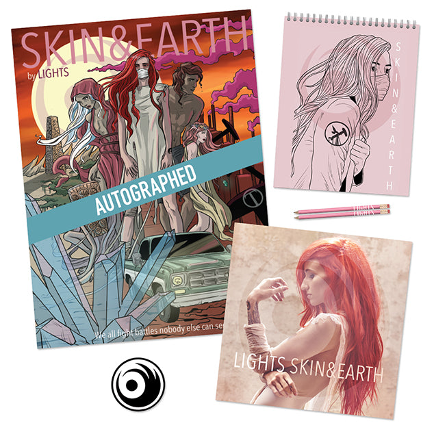 LIGHTS Skin and Earth Comic Collector Bundle