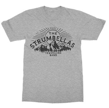 The Strumbellas Travelling Band Athletic Heather Tee