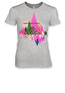 SRB -Abstract- LADIES T-Shirt - Athletic Grey