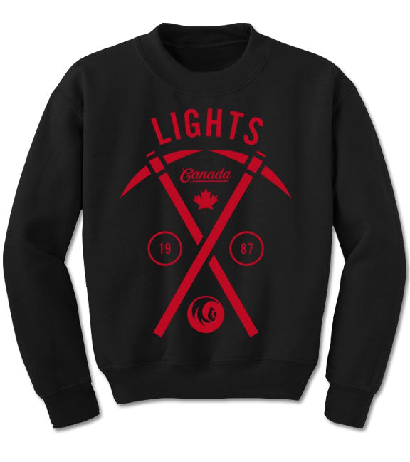 LIGHTS -Cross Pick- Crew Sweatshirt