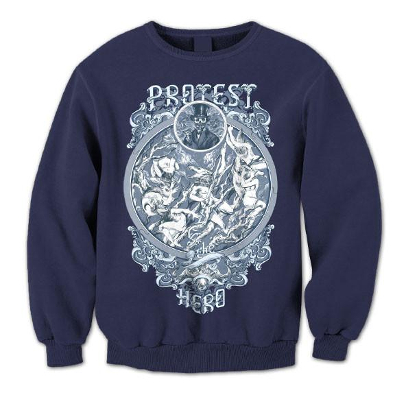 PROTEST THE HERO - Cigar Guy Navy Blue Crew