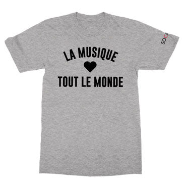 SOCAN - La Musique - Heather Grey Tee