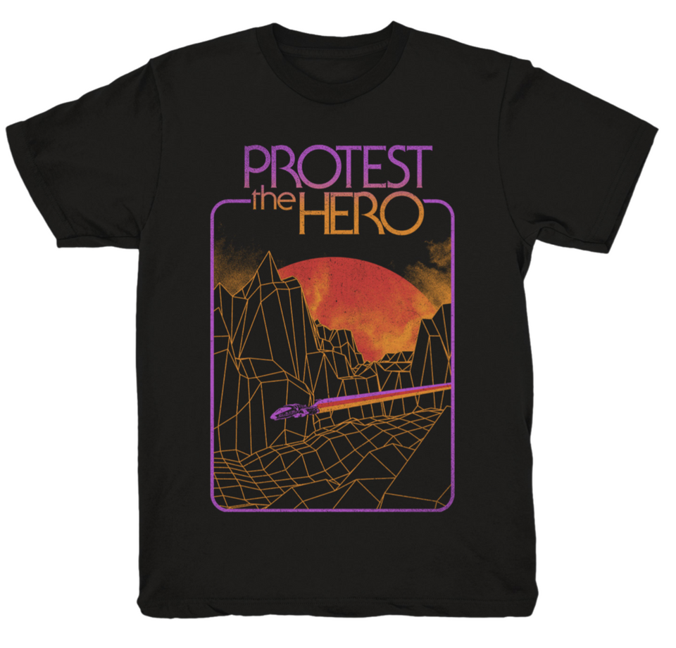 PROTEST THE HERO - Space Beam - Black Tee