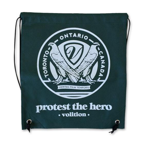 PROTEST THE HERO Volition Green Cinch Bag