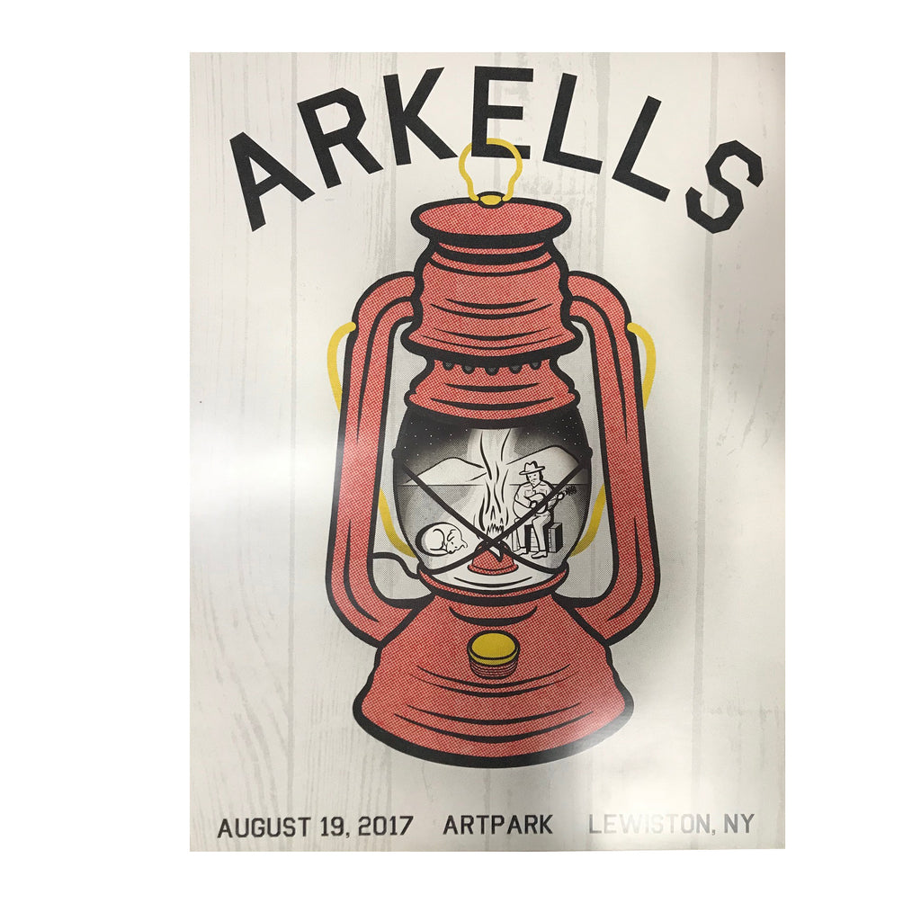 Arkells - Lewiston NY - Official Show Poster