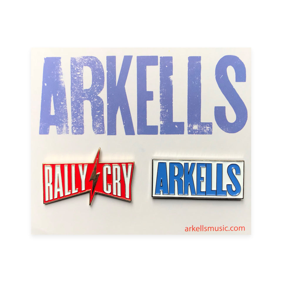 Arkells - Rally Cry - Limited Edition Pin Pack