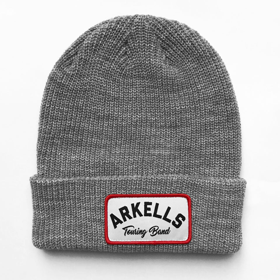 Arkells - Touring Band Knit Cuffed Beanie - Heather Gray