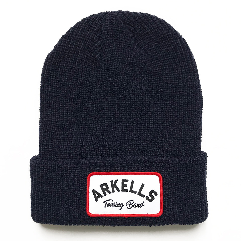Arkells - Touring Band Knit Cuffed Beanie - Navy Blue