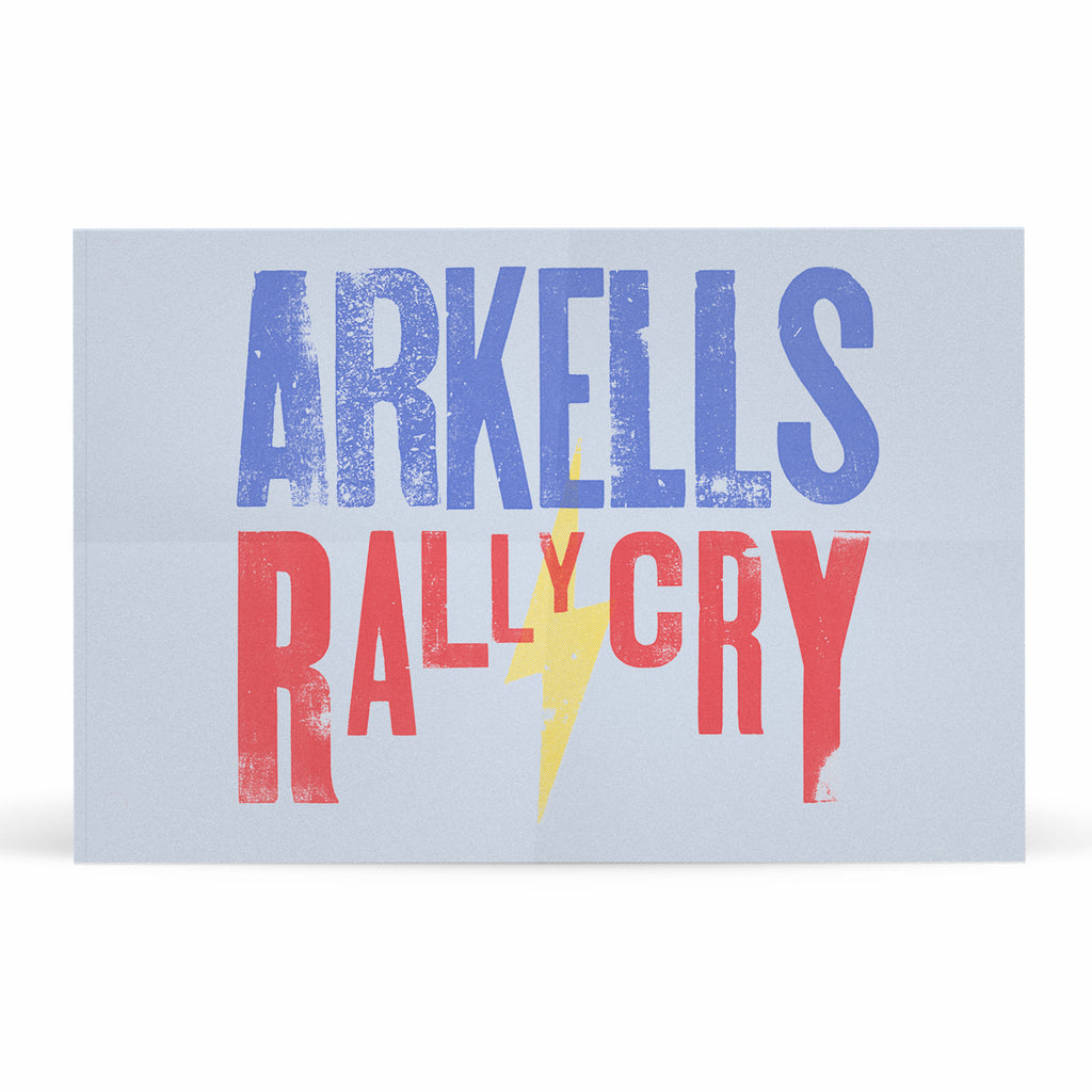 Arkells - Rally Cry - Limited Edition Flag