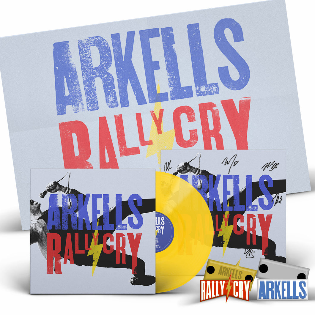 Pre Order - Arkells - Rally Cry - Vinyl Bundle